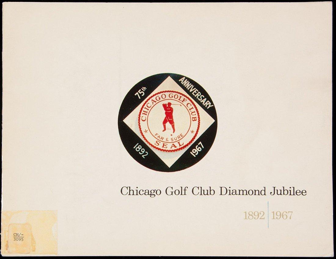14: Chicago Golf Club Diamond Jubilee 1892-1967