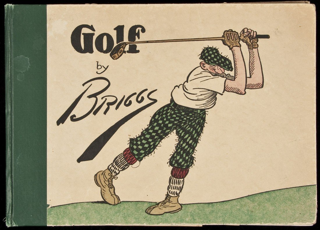 18: Golf Book of Thousand Chuckles by Briggs 1916