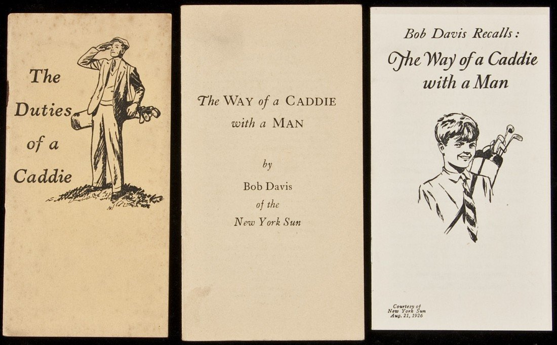 21: Three booklets about caddies