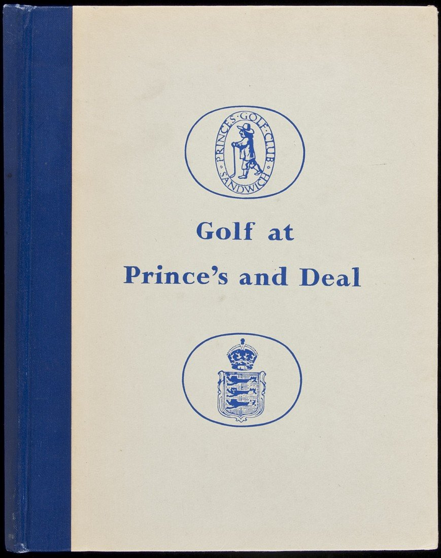 23: Golf at Prince's and Deal by Guy Campbell 1950