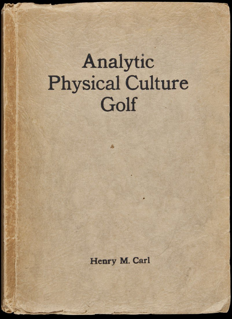 24: Analytic Physical Culture Golf 1928 by Carl