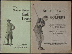 Chester Horton Golf Lessons 1925