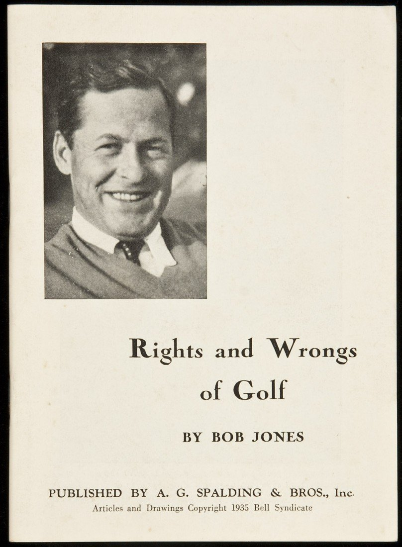 126: Rights and Wrongs of Golf wrappers 1935