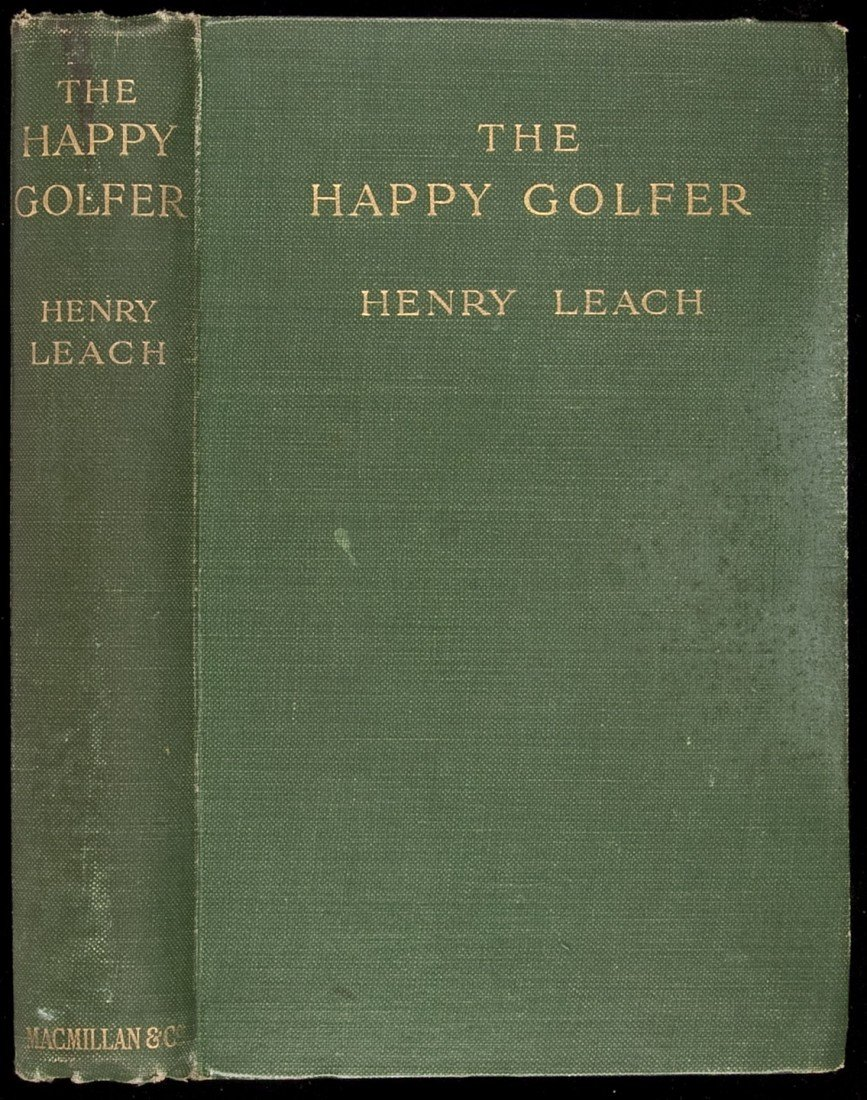 135: Happy Golfer by Henry Leach 1st edition