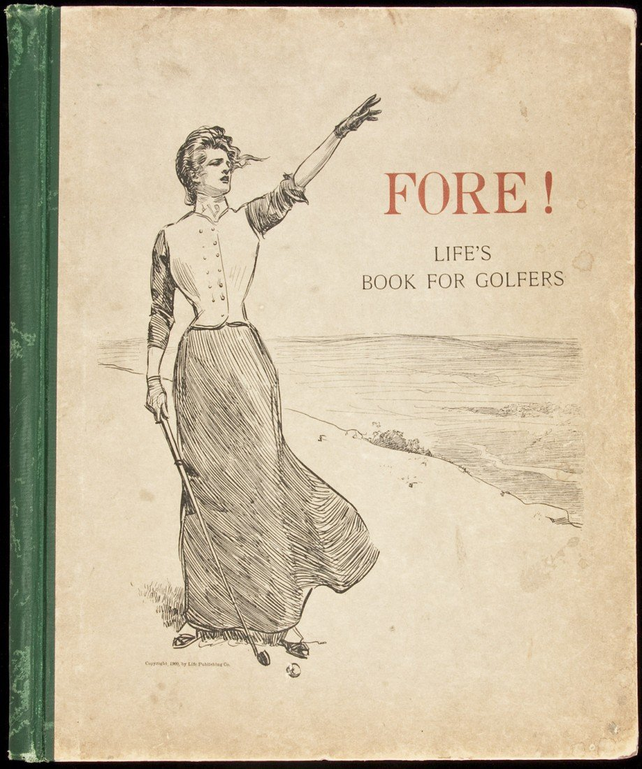 137: Fore! Life's Book for Golfers 1900