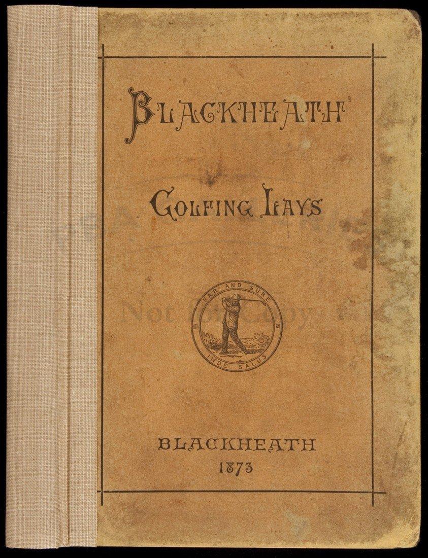 150: Blackheath Golfing Lays 1873