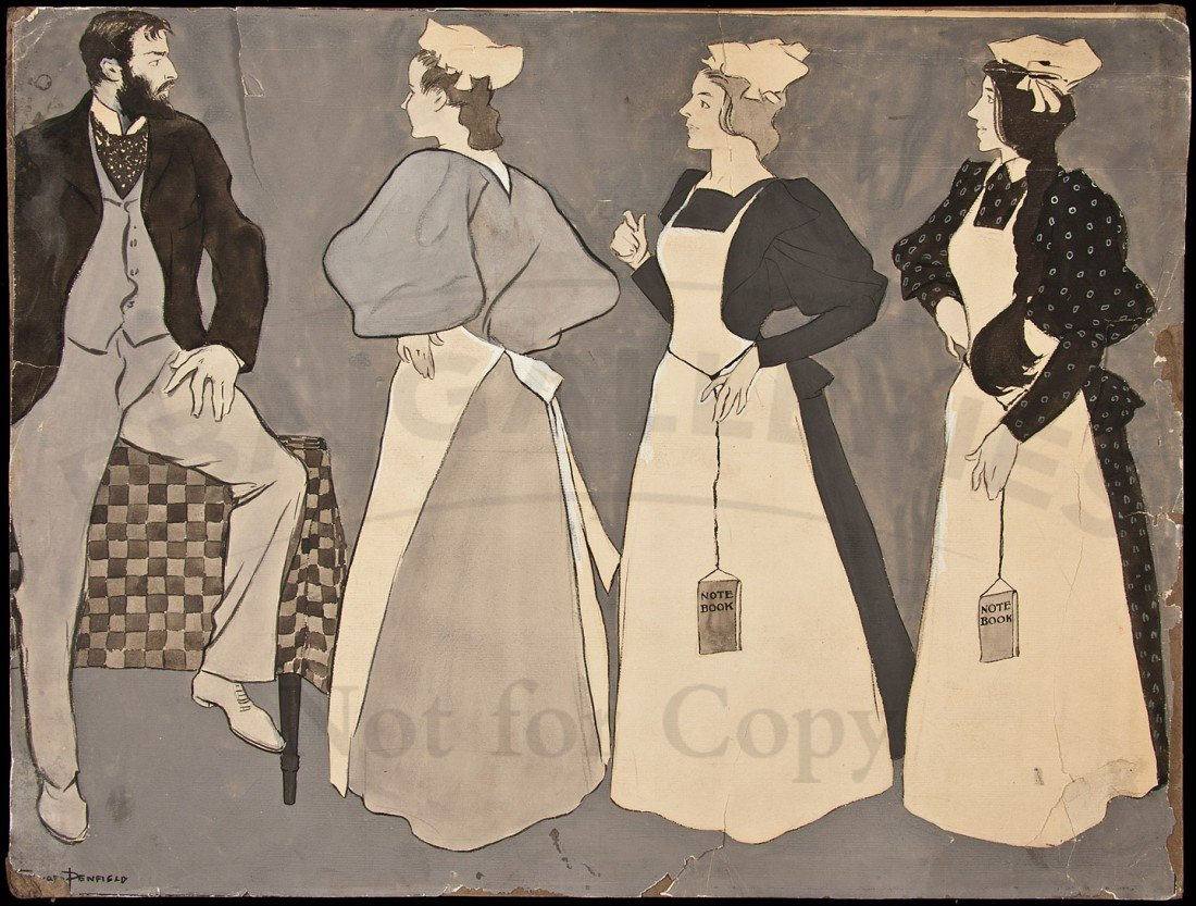 290: Original Edward Penfield Illustrations