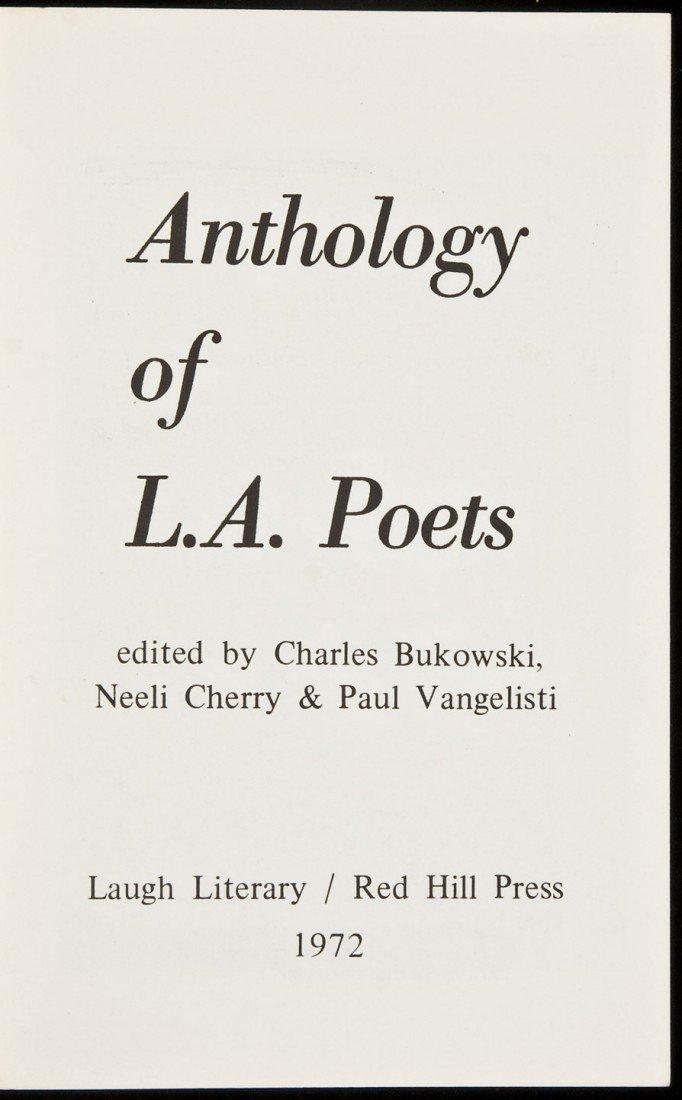 8: Anthology of L.A. Poets edited by Bukowski