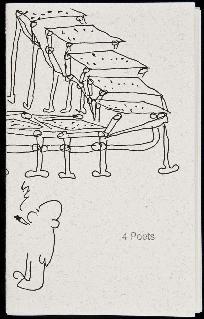 18: Bukowski in 4 Poets Chapbook Special Copy