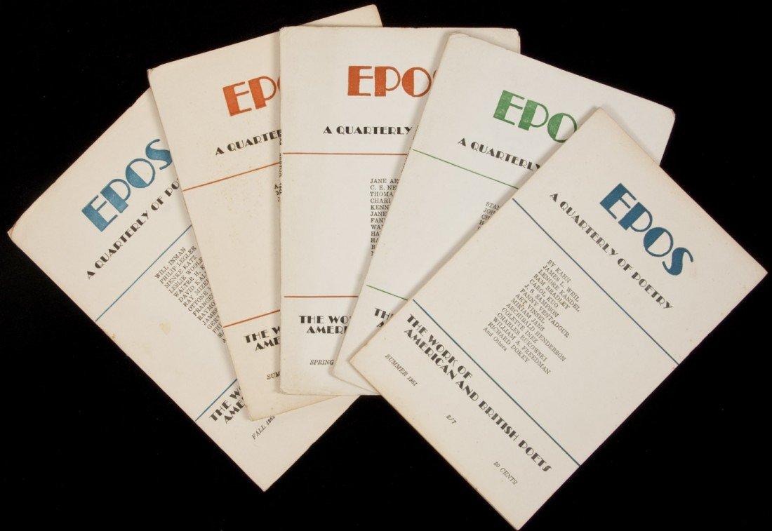 20: Epos Quarterly with Charles Bukowski contribution