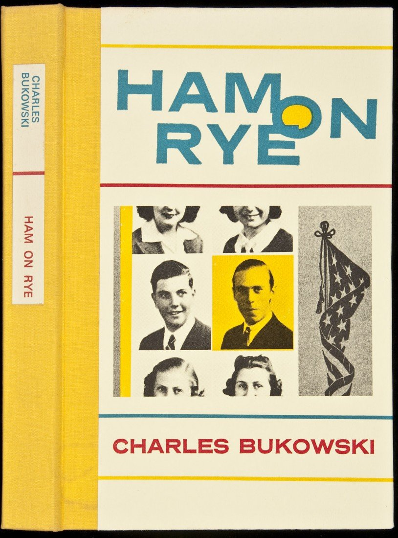 21: Charles Bukowski Ham on Rye Signed Ltd Edn