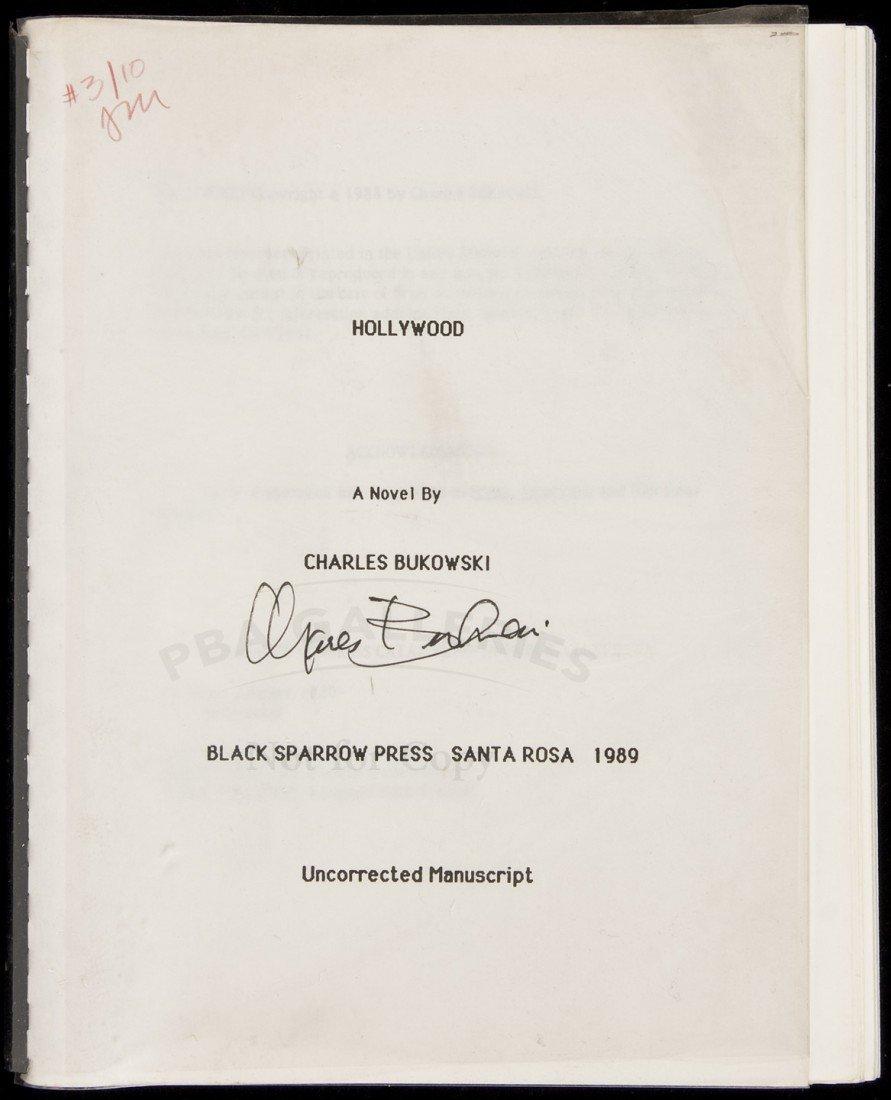 22: Bukowski Hollywood - Uncorrected Proof