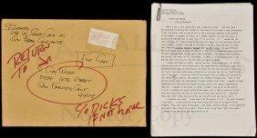 Bukowski Typescript I Meet The Master