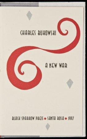 Charles Bukowski A New War 1 Of 26