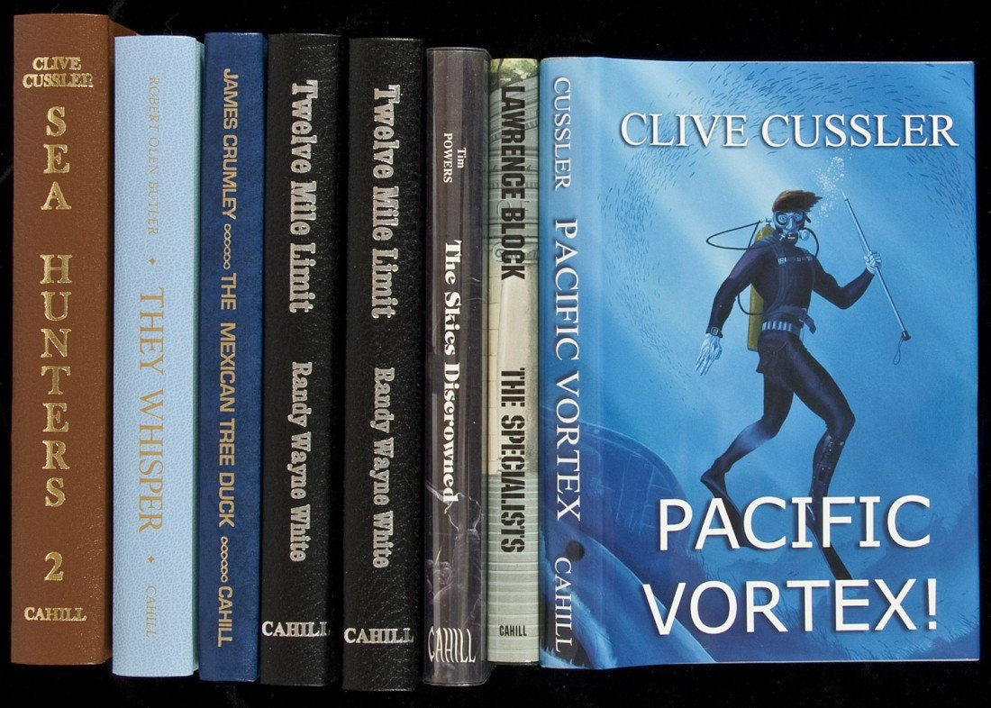 46: Eight volumes published by James Cahill