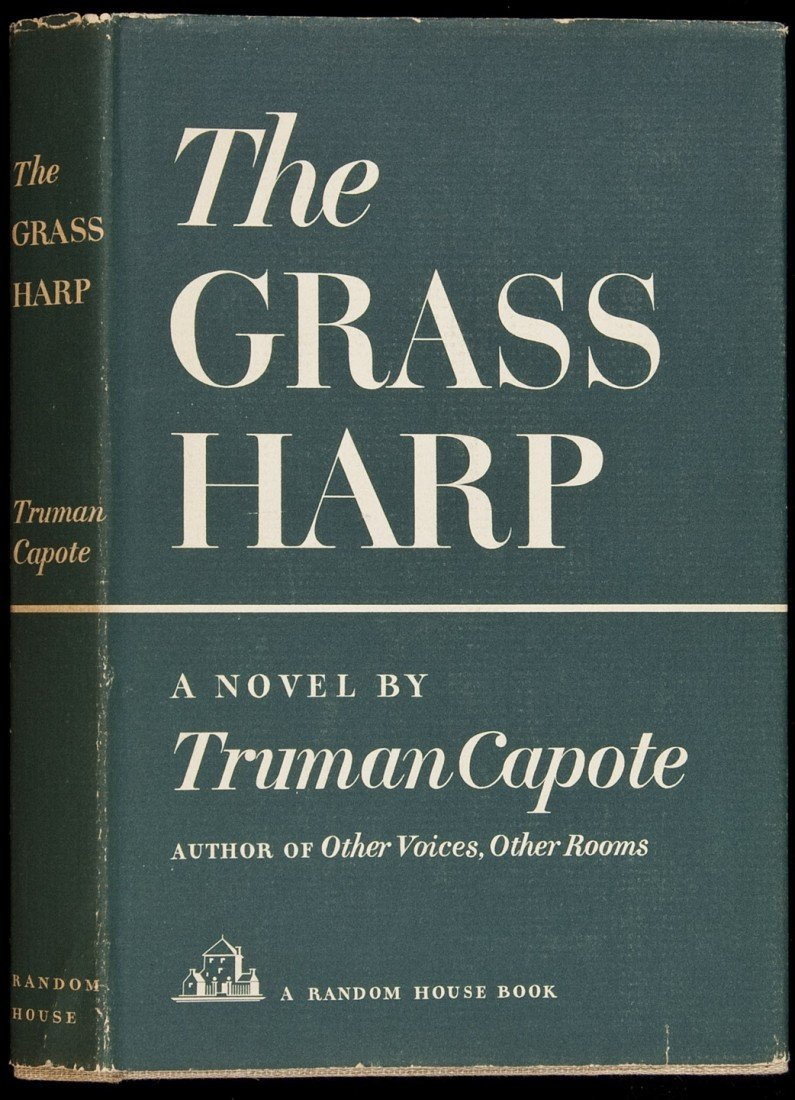 48: Grass Harp by Truman Capote 1st ed in dustjacket