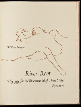 William Everson River-Root 1 Of 250 Copies