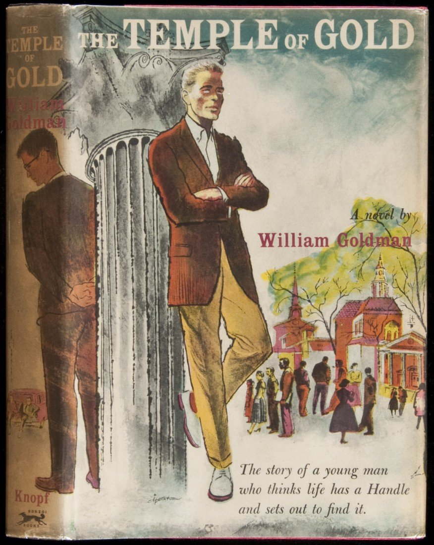 89: William Goldman Temple of Gold 1st Book