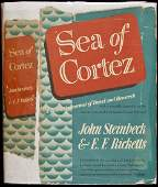 188 Sea of Cortez by Steinbeck 1st cloth issue