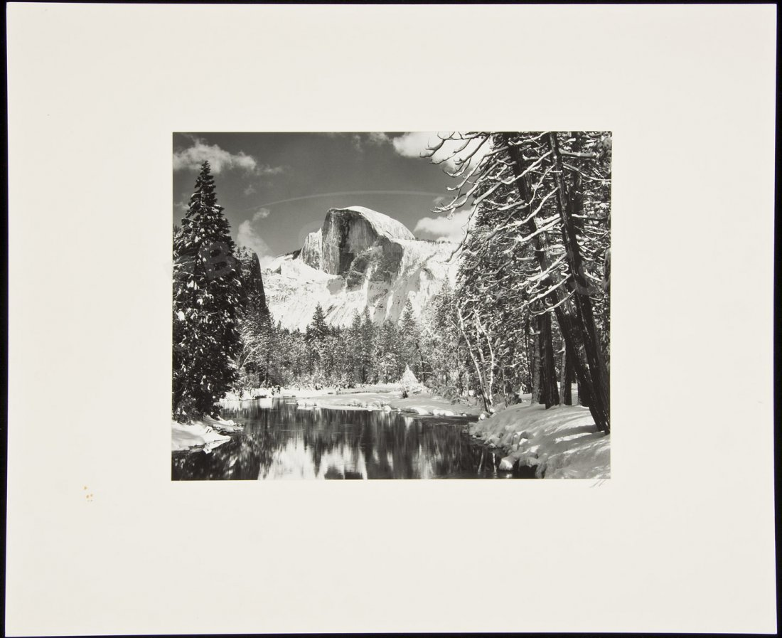 2: Ansel Adams photo of Half Dome