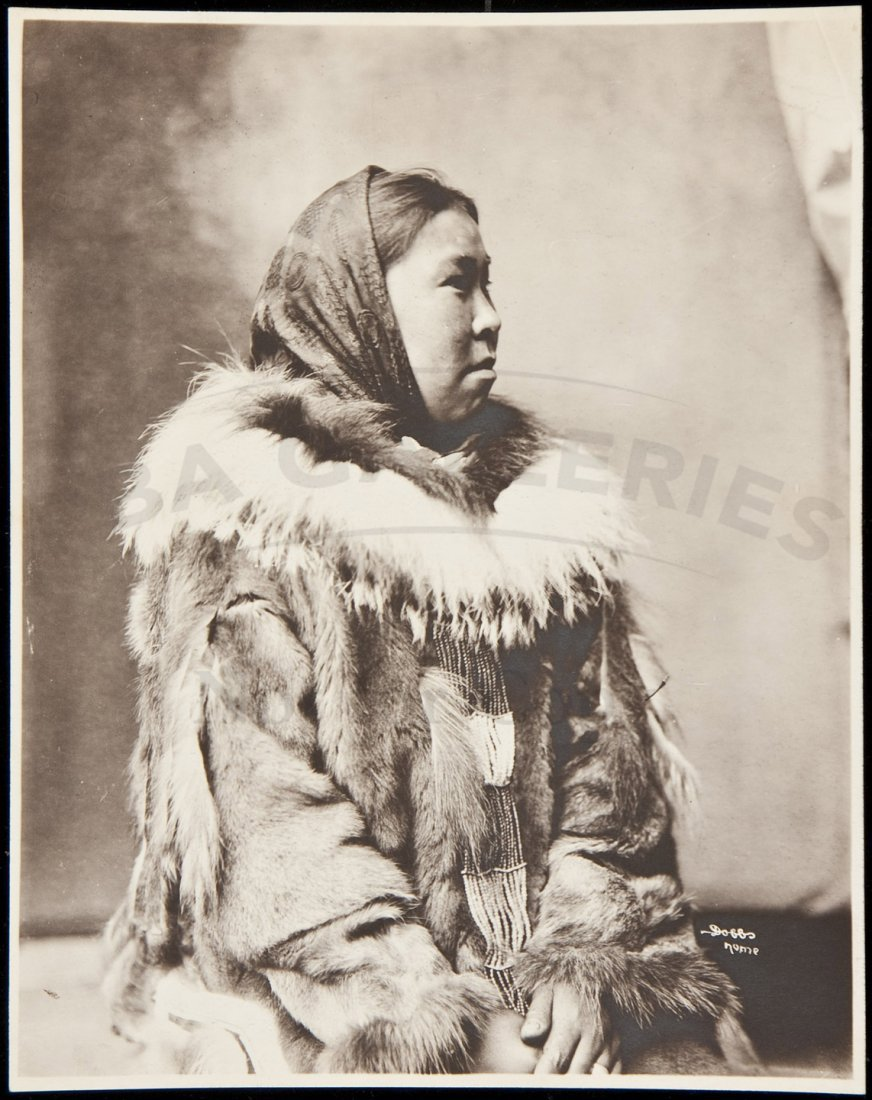 6: Photograph of an Eskimo woman by B.B. Dobbs