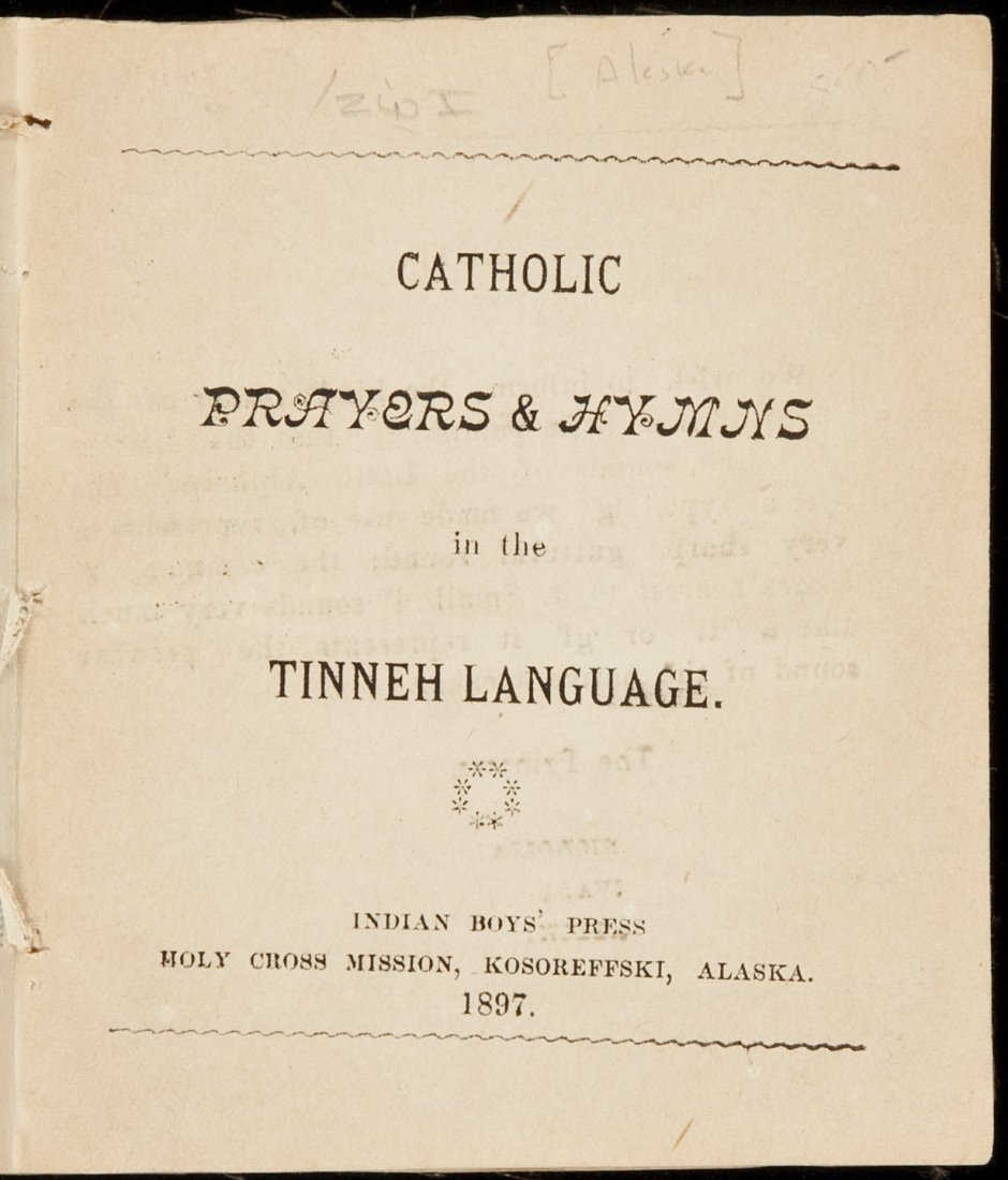 9: Catholic Prayers & Hymns in the Tinneh Language