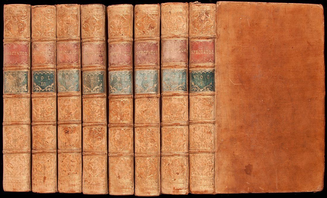 2: The Spectator in 8 volumes 1775