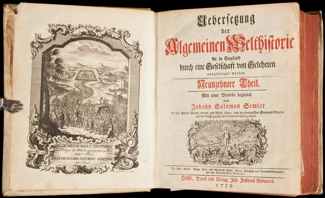 17: German history of Arabia & Persia 1759