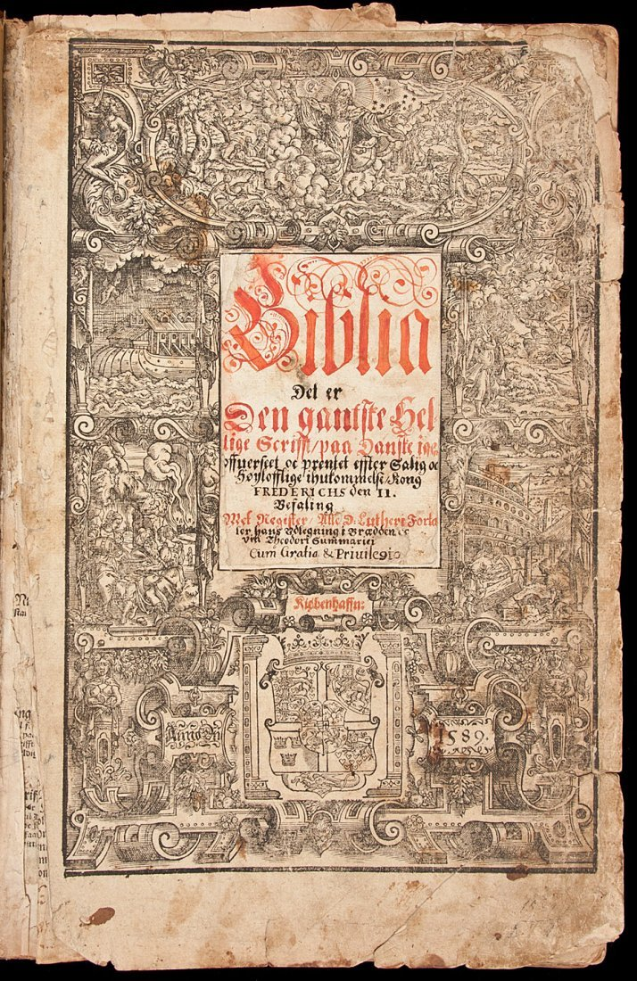 18: Second Bible in Danish 1589