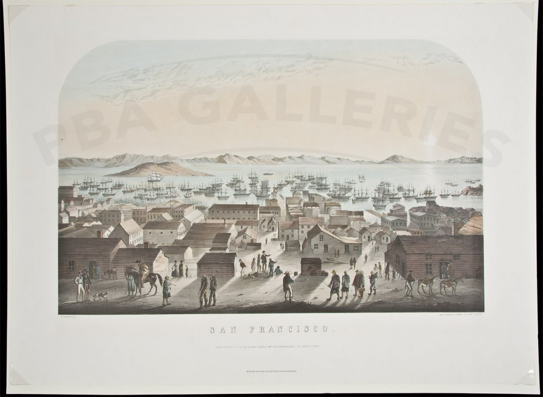 14: Historic Lithographs of San Francisco