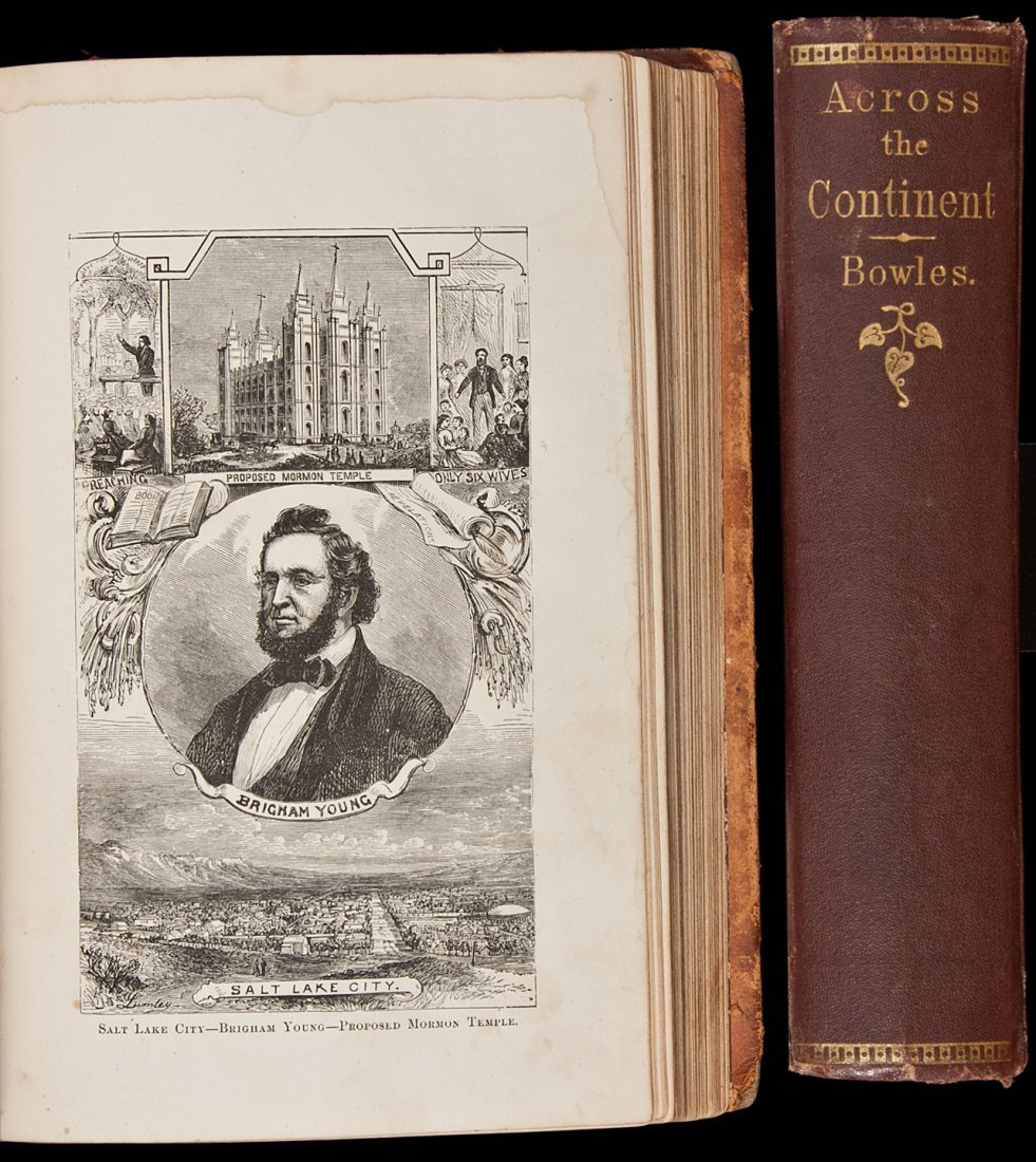 19: Two volumes on the American West by Samuel Bowles