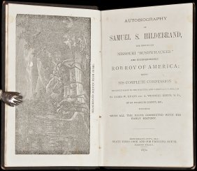 Autobiography Of Samuel S. Hildebrand
