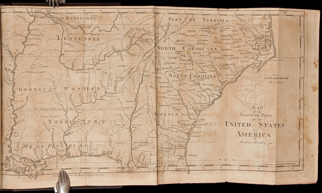 127: Morse's American Gazetteer 1st Edition 1797
