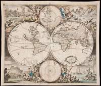328 De Wit map of World California an Island