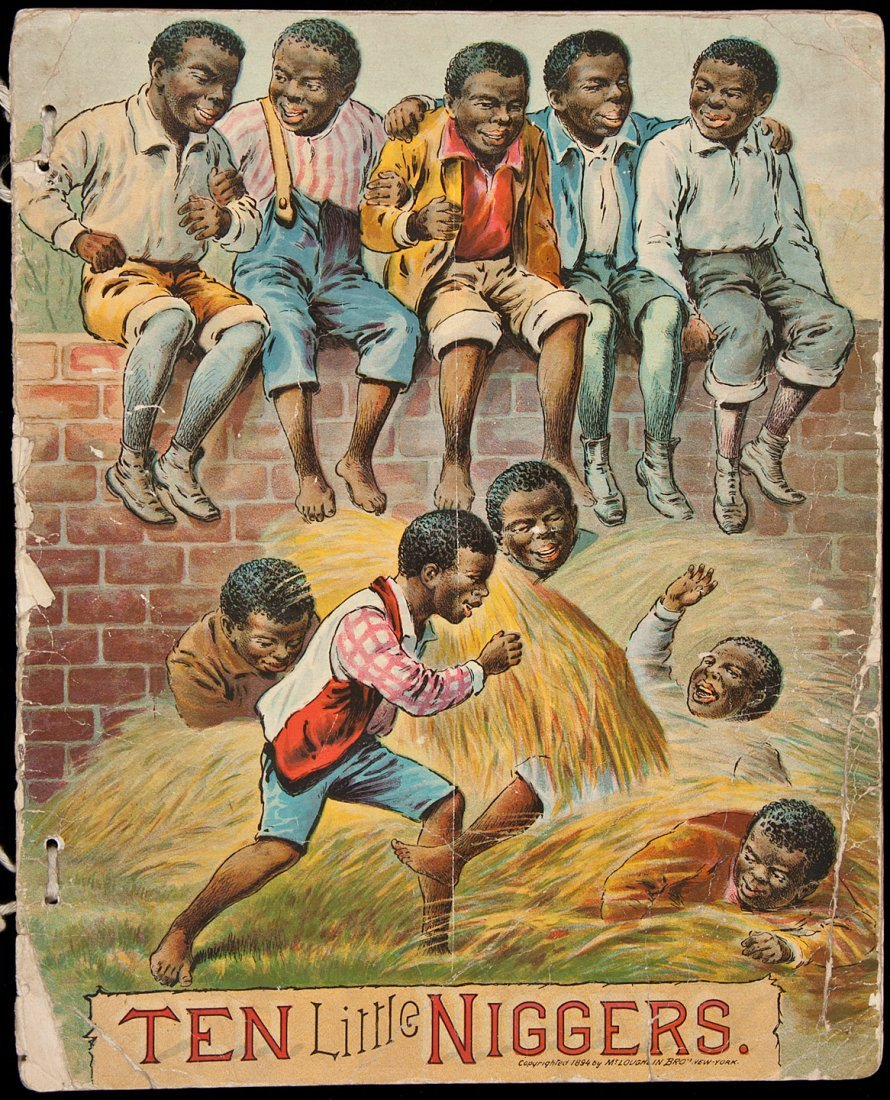 1: Ten Little Niggers McLoughlin Bros.