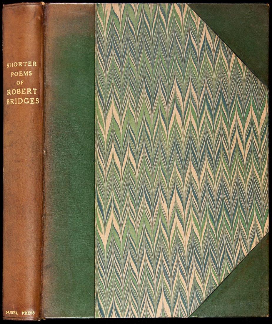 49: Robert Bridges Shorter Poems Daniel Press