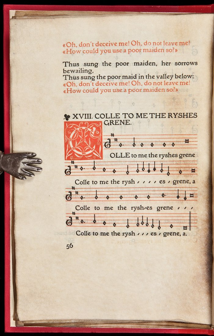 61: Old French and English Ballads Eragny Press