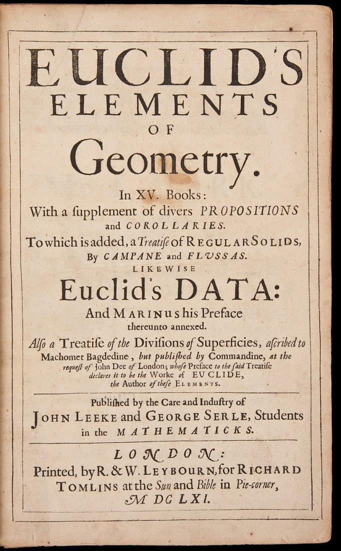63: Euclid's Elements 1651