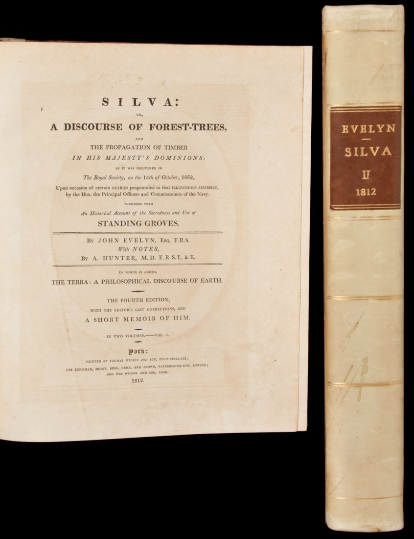 65: Evelyn's Silva with engraved plates, 1812