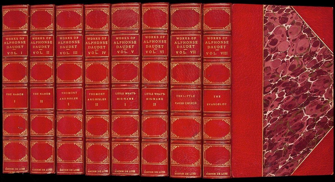 71: The Works of Alphonse Daudet - Edition De Luxe