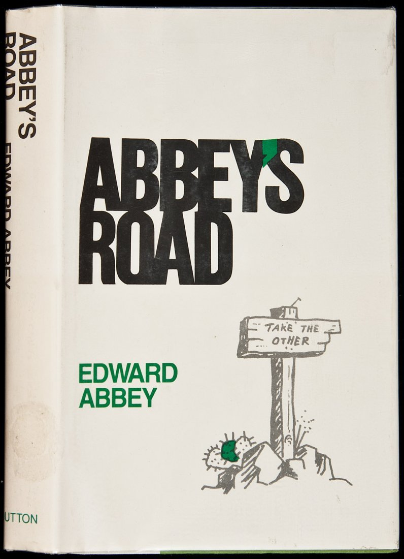 1: Edward Abbey Abbey's Road first edition signed
