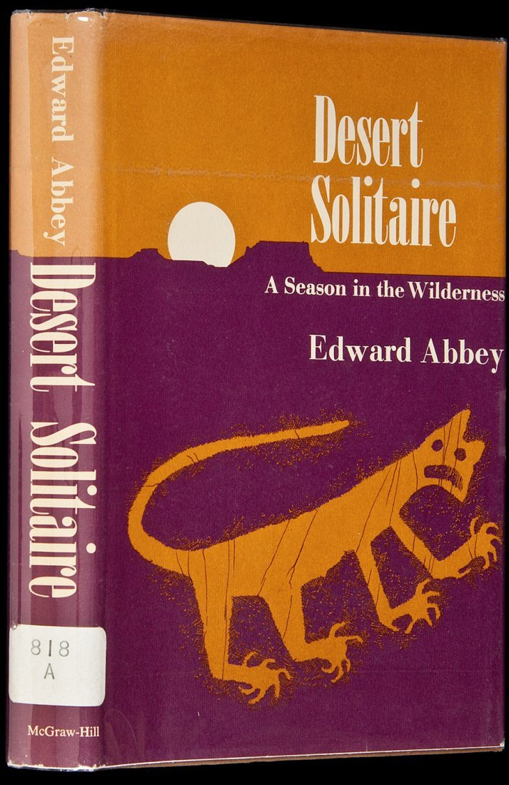 2: Desert Solitaire by Edward Abbey 1st in dj