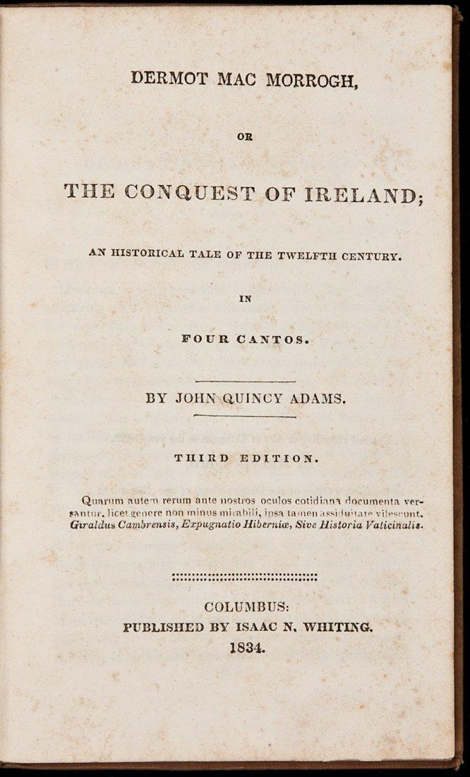 3: Dermot Mac Morrogh by John Quincy Adams