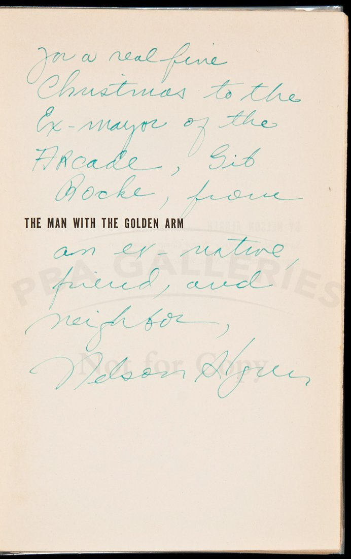5: Nelson Algren The Man With the Golden Arm