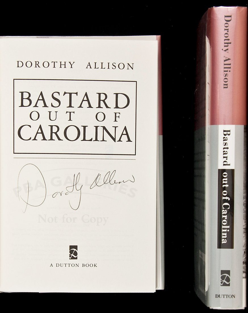 7: Bastard out of Carolina - 2 copies, 1 signed