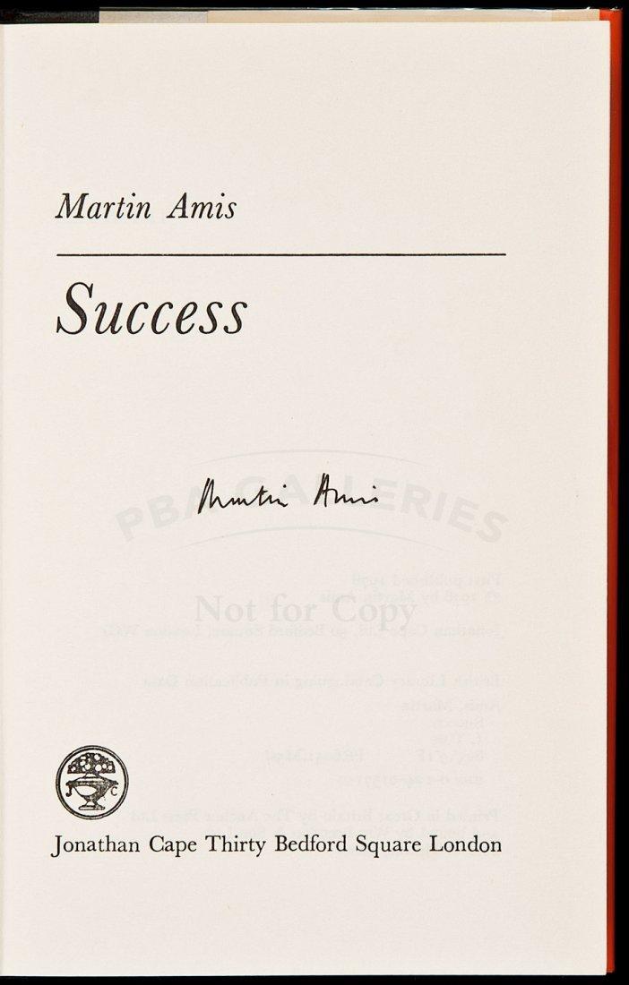 10: Martin Amis Success signed