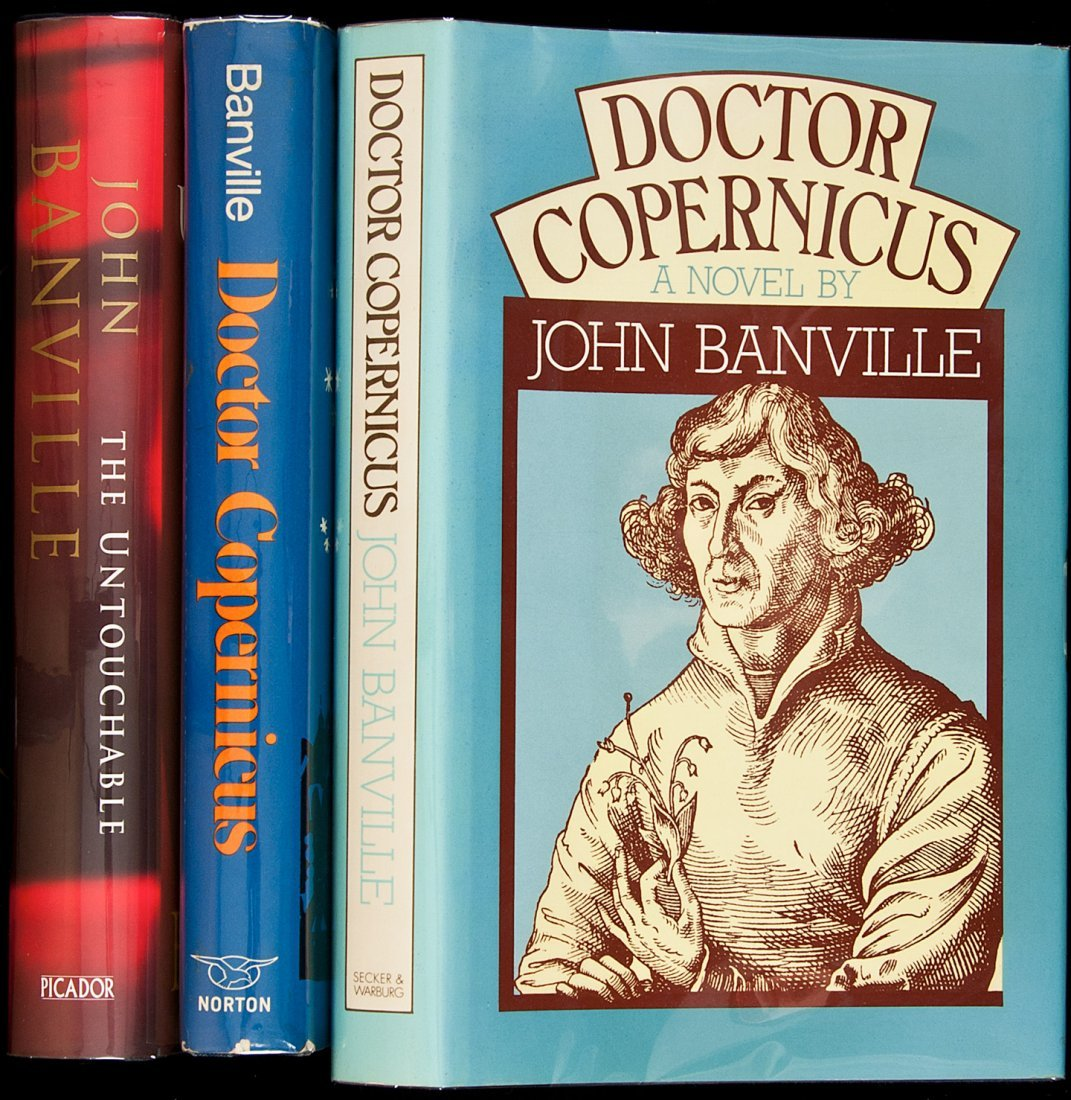 16: Three titles by John Banville, one of them signed