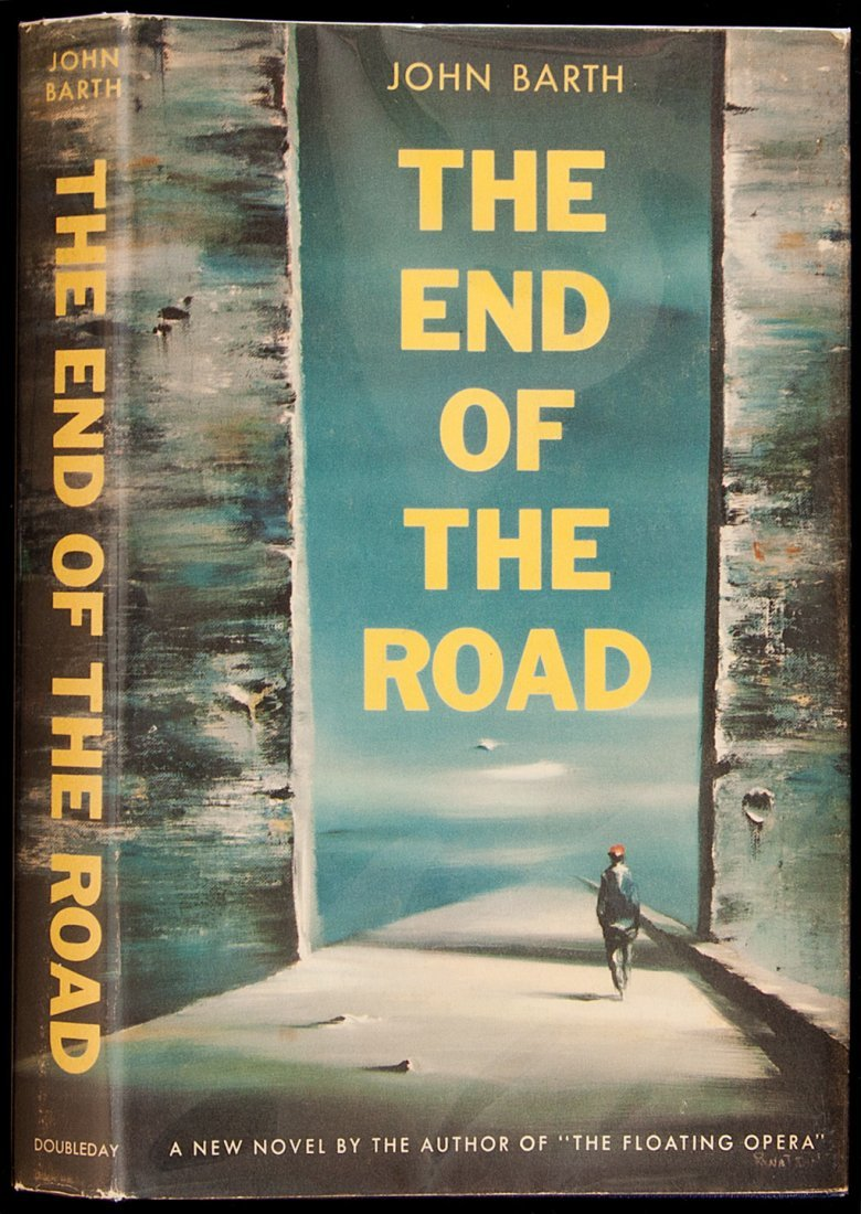 24: Barth, The End of the Road, 1st Ed. in jacket