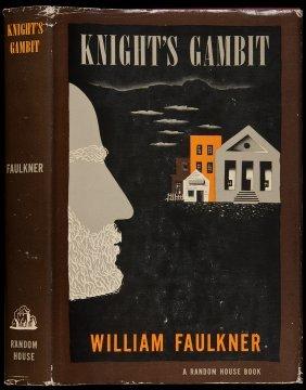 William Faulkner Knight's Gambit 1st Edition