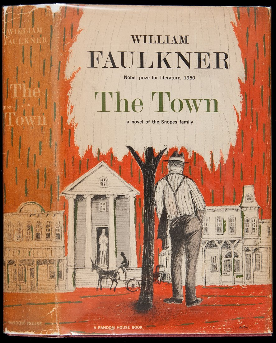 123: William Faulkner The Town 1st Edition
